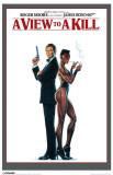 James Bond - A View To A Kill Masterprint