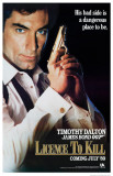James Bond - License to Kiil Masterprint