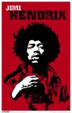 Jimi Hendrix - Revolution Masterprint