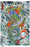 Ed Hardy - Dragon Masterprint