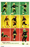 Bob Marley Football Masterprint