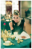 Audrey Hepburn - Breakfast at Tiffany&#39;s Masterprint