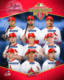 St. Louis Cardinals 2011 National League Champions Composite Photographie
