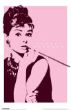 Audrey Hepburn - Cigarello Masterprint