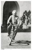 Albert Einstein - Bike Masterprint