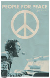 John Lennon - People For Peace Masterprint