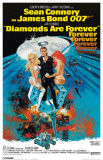 James Bond - Diamonds Are Forever Masterprint
