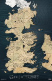 Game of Thrones - Map Masterprint