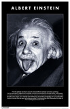 Albert Einstein - Tongue Masterprint