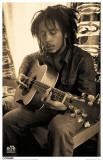 Bob Marley - Sepia Masterprint