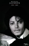 Michael Jackson - Black and White Masterprint