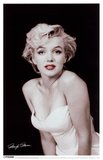 Marilyn Monroe - Red Lips Masterprint