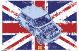 Haynes - Mini Union Jack Tryckmall