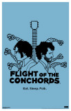 Flight of the Conchords - Eat Sleep Folk Masterprint