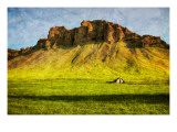 Gentle Green Slopes to Rocky Curved Crags Premium Photographic Print by Trey Ratcliff