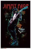 Jimmy Page Masterprint