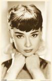 Audrey Hepburn - Sepia Masterprint