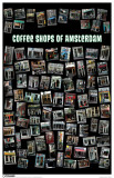Coffee Shops Of Amsterdam Masterprint