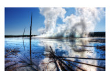 Prismatic Steam in Yellowstone Premium Photographic Print by Trey Ratcliff
