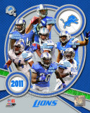 Detroit Lions 2011 Team Composite Photo