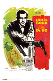 James Bond - Dr No - French Masterprint