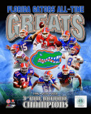 University of Florida Gators All Time Greats Composite Photo