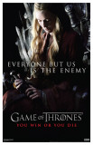 Game of Thrones - Everyone But Us Is The Enemy Masterprint