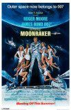 James Bond - Moonraker - Girls Masterprint