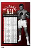 Ali - Pro Boxing Record Masterprint