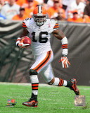 Josh Cribbs 2011 Action Photo