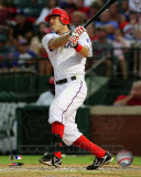 Ian Kinsler 2011 Action Photo