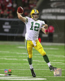 Aaron Rodgers 2011 Action Photo