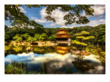 The Golden Pavilion Premium Photographic Print by Trey Ratcliff