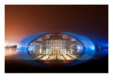 The Chinese Mothership Premium Photographic Print by Trey Ratcliff