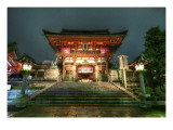 A Parting Shot of the Temple Premium Photographic Print by Trey Ratcliff