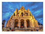 The Sacred Heart of Paris Premium Photographic Print by Trey Ratcliff