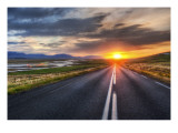 The Long Road Home Premium Photographic Print by Trey Ratcliff