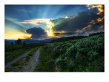 The Dirt Road to the Nuclear Blast Site Premium Photographic Print by Trey Ratcliff