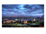 La Ville de Paris Gets Ready for Night Premium Photographic Print by Trey Ratcliff