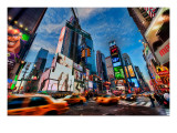 New York is Alive and Well Premium Photographic Print by Trey Ratcliff