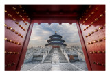 Gateway to the Temple of Heaven Premium Photographic Print by Trey Ratcliff
