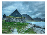 Homes in the Land of the Panserbjørne Premium Photographic Print by Trey Ratcliff