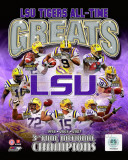 Louisiana State University Tigers All Time Greats Composite Photo