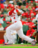 Yadier Molina 2011 Action Photo