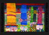 H&#252;te Tragen Art by Friedensreich Hundertwasser