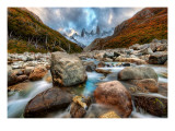The River Runs Through the Andes Premium Photographic Print by Trey Ratcliff