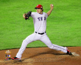 Derek Holland Game 4 of the 2011 MLB World Series Action (16) Photo
