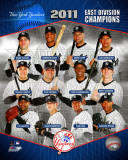 New York Yankees 2011 AL East Champions Composite Photo