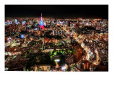 From Osaka to Tokyo Premium Photographic Print by Trey Ratcliff