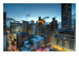 Houston at Dusk Premium Photographic Print by Trey Ratcliff